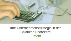 Ihre Unternehmensstrategie in der Balanced Scorecard